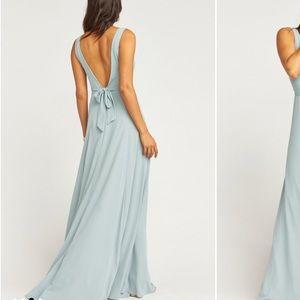 Show me your mumu Jenn Dress Silver Sage Size M